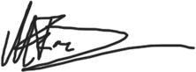 Markus Franz Unterschrift
