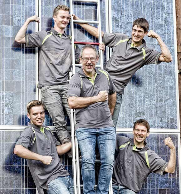 ageff team photovoltaikanlage